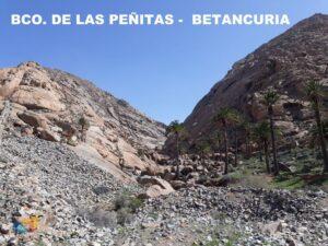 Barranco de Las Peñitas BETANCURIA