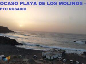 OCASO PLAYA LOS MOLINOS