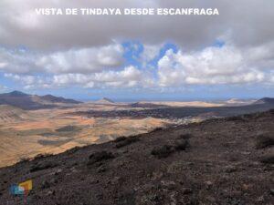 Vista de Tindaya desde Escanfraga 2 AURORA