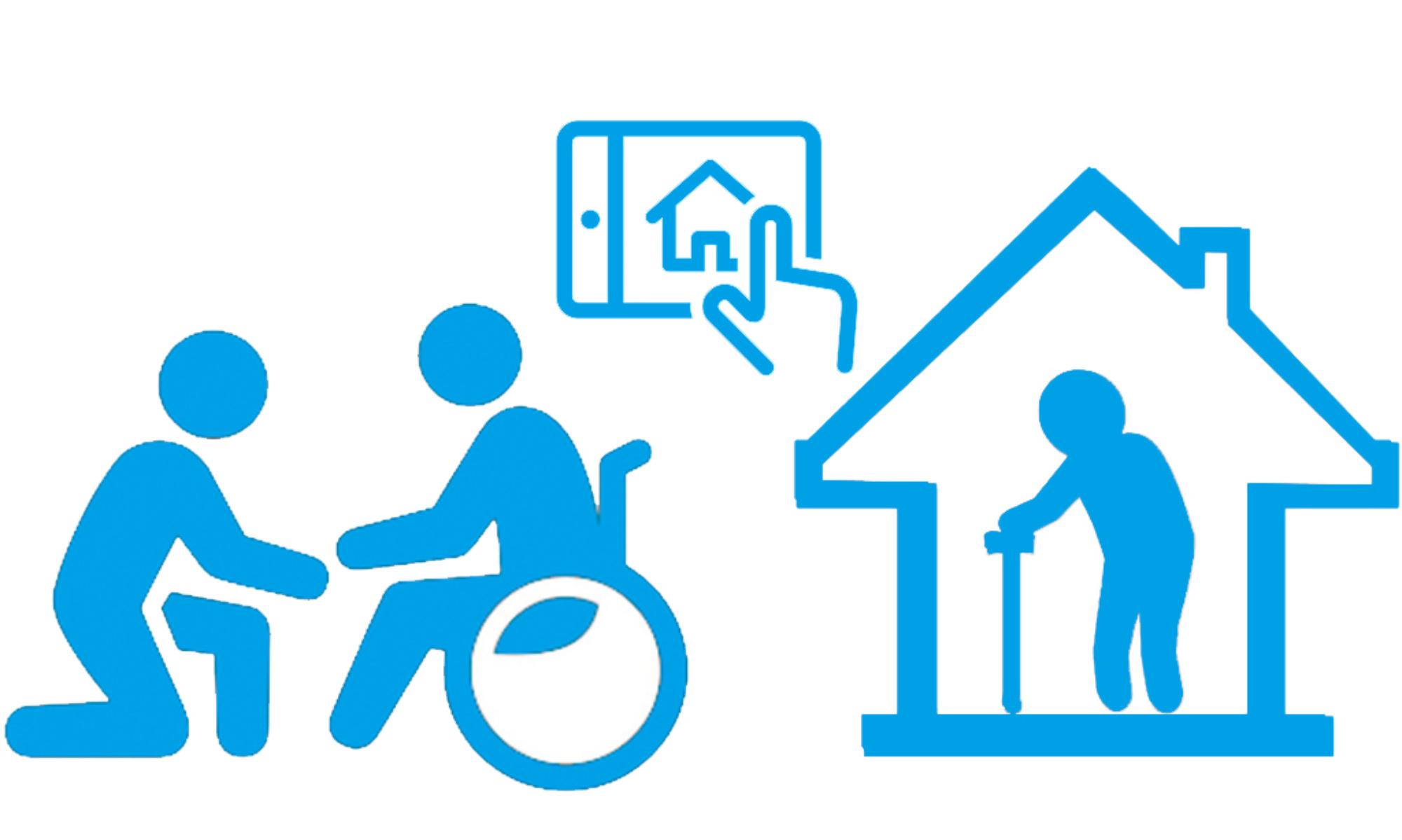 El hogar inteligente ayuda a las personas dependientes